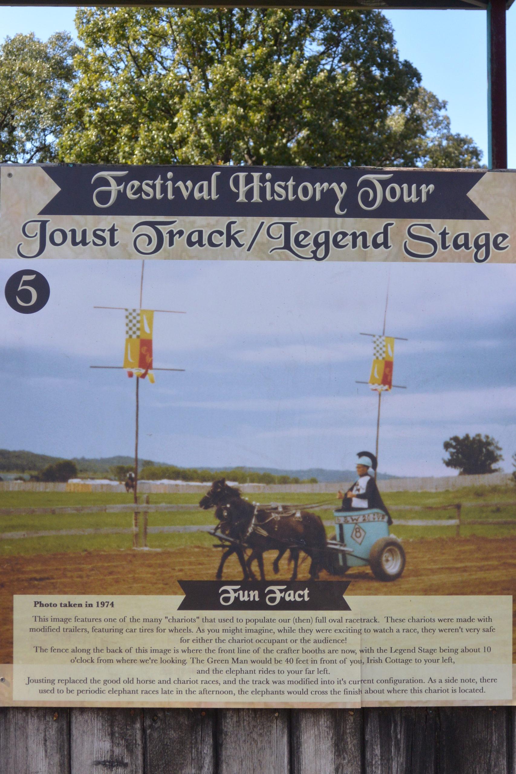 Festival History Tour - Track